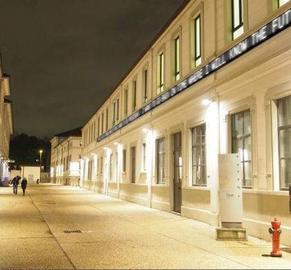 LED screens in buildings